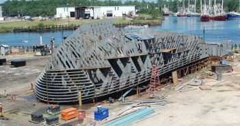 Marad is putting up $9.8 million to fund another round of its Small Shipyard Grant Program. Ken Hocke photo