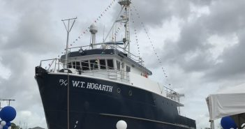 New 78'x26' research vessel for the Florida Institute of Oceanography. Boksa Marine Design photo