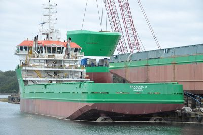 During the recent OSV building boom, Eastern built oil service vessels for several operators. David Krapf photo.