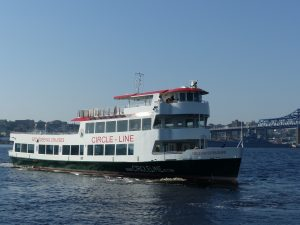 The new sightseeing and tour boat can carry up to 599 passengers. Gladding-Hearn photo