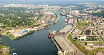 The Houston Ship Channel. Port of Houston photo.