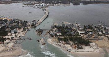 Mantoloking, N.J., after Hurricane Sandy. Greg Thompson/U.S. Fish and Wildlife Service photo.