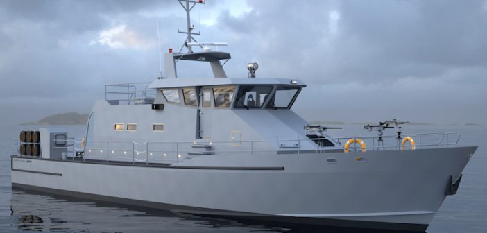 Rendering of the NCPV to be built by Metal Shark for the Navy. Image courtesy of Metal Shark
