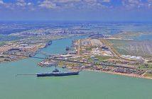 The Port of Corpus Christi, Texas. Port of Corpus Christi photo.