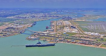 The Port of Corpus Christi, Texas. Port of Corpus Christi photo.