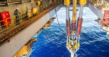 Offshore drilling. BP photo.