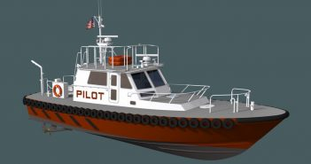 Louisiana pilots new 52' pilot boat will be delivered in 2018.