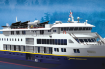 Lindblad has canceled tomorrow's sailing of the new 100-passenger National Geographic Quest. Rendering courtesy of Lindblad Expeditions