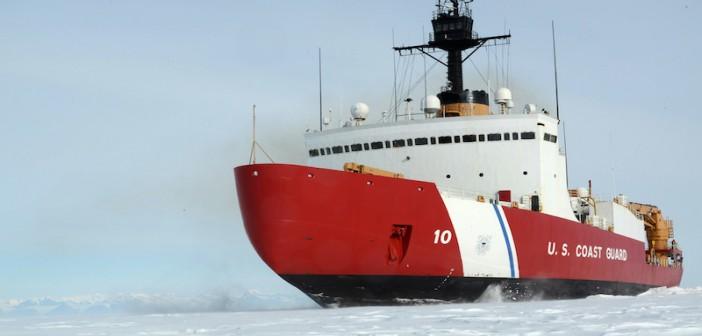 The Coast Guard heavy icebreaker Polar Star. Coast Guard photo.