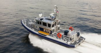 Another response boat-medium for New York's harbor Unit. Vigor photo