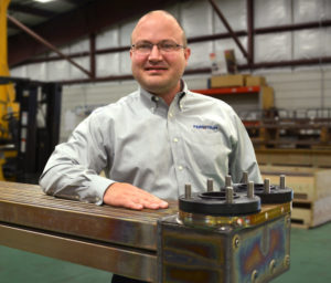 Dave Peura, Fernstrum's sales manager. R.W. Fernstrum photo