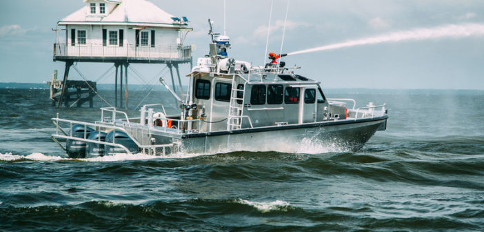 New 38' multi-mission boat will operate in New York's Montauk harbor. Silver Ships photo
