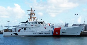 The 24th fast response cutter was recently delivered to the Coast Guard. Bollinger Shipya