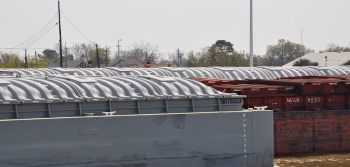 Export grain inspections were up 18% from the previous week. David Krapf photo