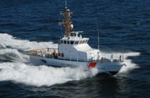 A Coast Guard 87' coastal patrol boat. Bollinger Shipyards photo.