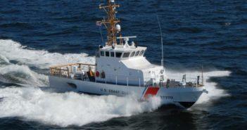 A Coast Guard 87' coastal patrol boat. Bollinger Shipyards photo.