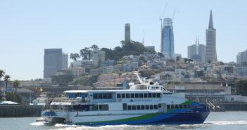 San Francisco Bay Ferry's Intintoli. Kirk Moore photo