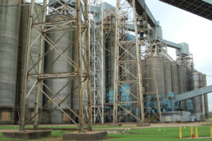 Grain products rarely stay in Cargill's grain storage facility for more than three or four days. Ken Hocke photo