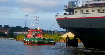 The first of 10 Stan Tugs for The Great Lakes Towing Co. has been delivered. Damen photo