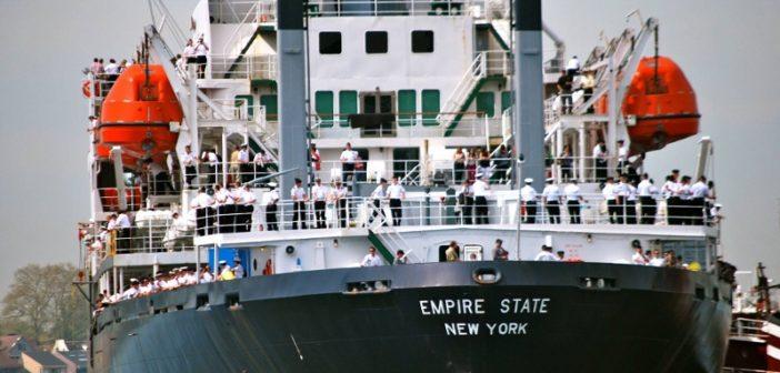 The training ship Empire State VI. SUNY Maritime photo.
