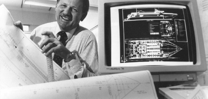 Incat Crowther announced the death of the founder of Incat Designs, Philip Hercus. Incat Crowther photo