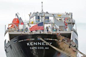 The training vessel Kennedy. Massachusetts Maritime Academy photo.