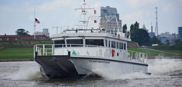 The new boat's primary mission is to conduct hydrographic surveys. Technology Associates photo