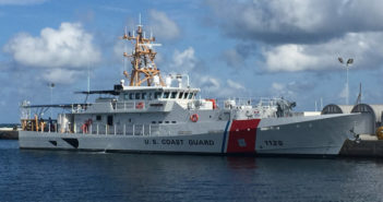 Latest fast response cutter will be commissioned on Nov. 8 in New Orleans. Bollinger Shipyards photo
