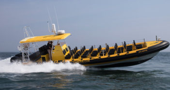 Ribcraft has delivered its first 12.5 model RIB. Ribcraft photo