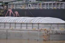 For the week ending Feb. 3, barge grain movements on the Mississippi River system totaled 664,089 tons; 25% higher than the previous week. Photo by David Krapf