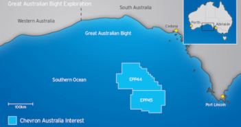 The Great Australian Bight. Image courtesy of Chevron