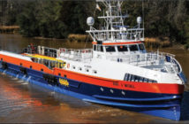 The Ava J McCall, a 13,500-hp fast support vessel built by Gulf Craft for Seacor. Seacor photo