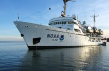 The survey ship Rainier. NOAA photo.