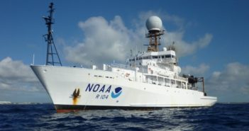 The global class research vessel Ronald H. Brown. NOAA photo.