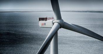 An MHI Vestas v164 prototype turbine in Denmark. MHI Vestas photo.
