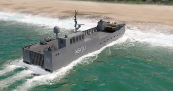 New generation of landing craft that Vigor and its team will build for the Army. Vigor rendering