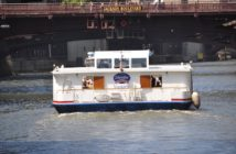 The handling of ferries, tugs, and other vessels in coastal and inland service often relies upon manual boat maneuvering and operating skills. Photo David Krapf
