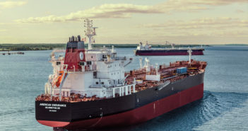 Philly Shipyard has now delivered all four 50,000-dwt product tankers to Kinder Morgan. Photo courtesy of Philly Shipyard