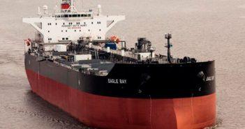 The SeaRiver Maritime tanker Eagle Bay. Exxon Mobil photo.