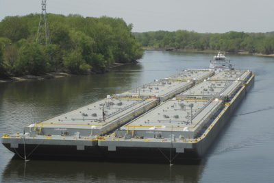 Barge industry releases new procedures for ill crewmembers and vessel cleaning