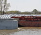 River traffic increases as grain harvest winds down