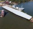 The first rail barge built in years for New York Harbor will be delivered by Metal Trades, Inc. Metal Trades photo.