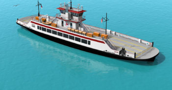River class ferry design from Elliott Bay Design Group for North Carolina. EBDG image