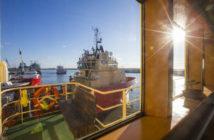 Offshore service vessels docked at Port Fourchon, La. WorkBoat file photo
