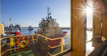 Offshore service vessels docked at Port Fourchon, La. WorkBoat file photo