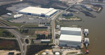 Austal USA's facility in Mobile, Ala. Austal USA photo