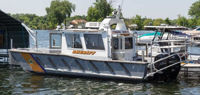 New rescue vessel for Hennepin County Sheriff's Water Patrol Unit from Lake Assault Boats. Lake Assault Boats photo