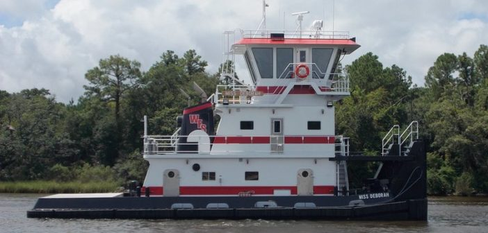 New 67' towboat for Waterfront Services from Master Marine. Master Marine photo