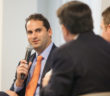 Eric Fabrikant of Seacor at Marine Money's Ship Finance Forum held late last month. Photo by John Galayda/Marine Money