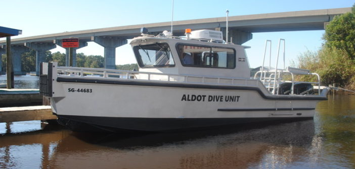 Silver Ships recently refurbished an Alabama DOT dive boat it built in 1992. Silver Ships photo